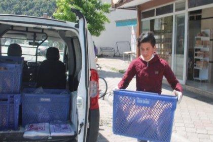 Bodrum Belediyesi isteyen yurttaşa ekmek getiriyor