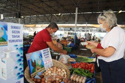 Bodrum'da üretici pazarları açıldı