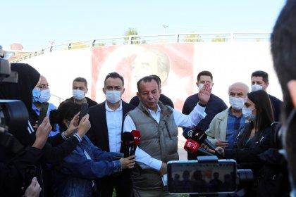 Bolu Belediye Başkanı Başkan Özcan'dan, Atatürk portresini silmeye çalışan Karayolları'na tepki