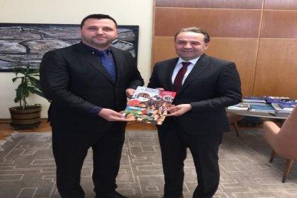 Bosna Sancak Derneği'nden Sırbistan Çalışma Bakanı'na ziyaret
