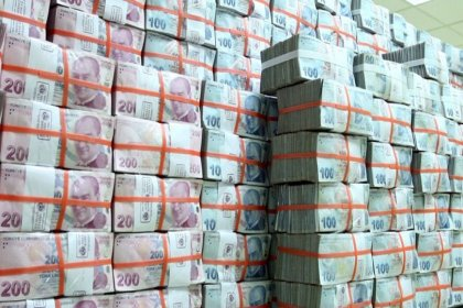Bütçe açığı 123,7 milyar liraya çıktı