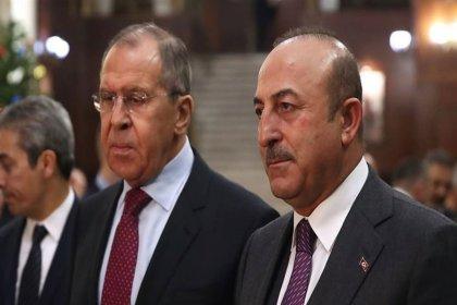 Çavuşoğlu, Rus mevkidaşı Lavrov ile görüştü