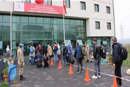 Cezayir'den gelen 299 kişi Manisa'da karantinaya alındı