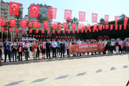 CHP Adana İl Örgütü'nden coşkulu Zafer Bayramı kutlaması