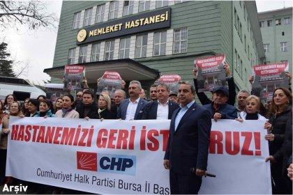 CHP Bursa İl Başkanı Karaca; 'Sağlık bakanı basına ambargo uyguladı, tek kale maç oynadı'