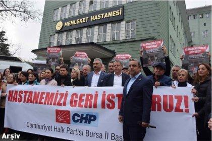 CHP Bursa İl Başkanı Karaca'dan yetersiz sağlık hizmeti tepkisi