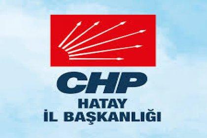 CHP Hatay İl Örgütü tek adayla seçime giriyor