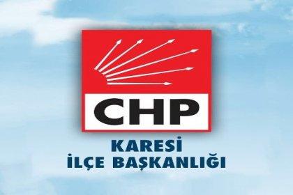 CHP Karesi İlçe Başkanlığı'ndan, iletişim bürosuna yapılan saldırıya ilişkin açıklama
