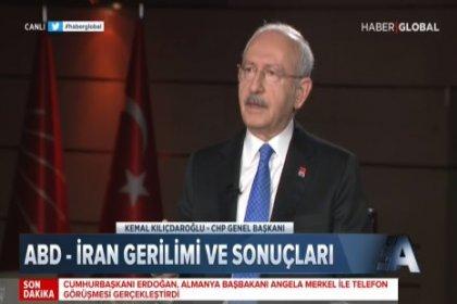 CHP Lideri Kılıçdaroğlu; Kanal İstanbul Erdoğan'ın çıkar, rant projesidir