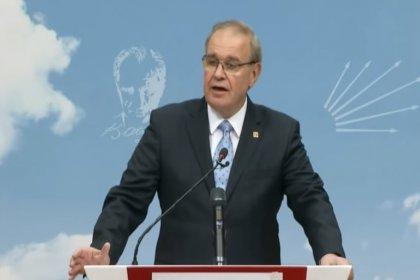 CHP Sözcüsü Faik Öztrak basın açıklaması yapacak