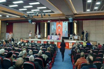 CHP Yunusemre İlçe Başkanlığı 3. Olağan Kongresi'ni yapıyor