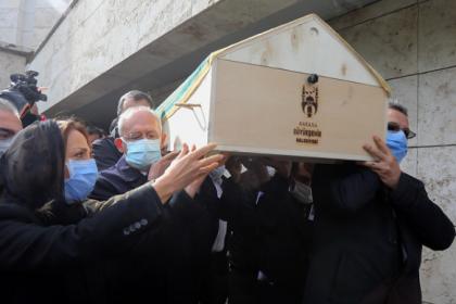 CHP'li Aylin Nazlıaka'nın babası son yolculuğuna uğurlandı