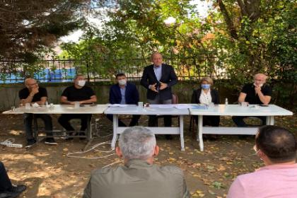 CHP'li Hamzaçebi, Arnavutköy'de tapu sorunu yaşayan yurttaşlarla bir araya geldi