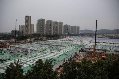 Çin'de koronavirüs için 23 Ocak'ta inşasına başlanan hastane 10 günde tamamlandı