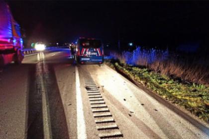 Çorum'da otomobil ve motorsiklet çarpıştı: 3 ölü