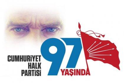 Cumhuriyet Halk Partisi  97 yaşında
