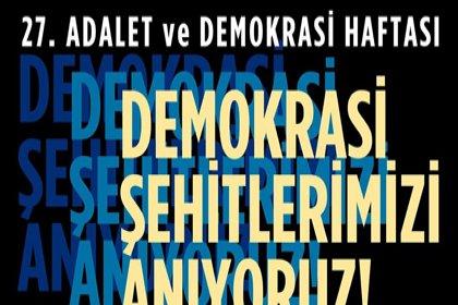 """ÇYDD'den 'Demokrasi Şehitlerimizi Anıyoruz"""" konulu söyleşi"""