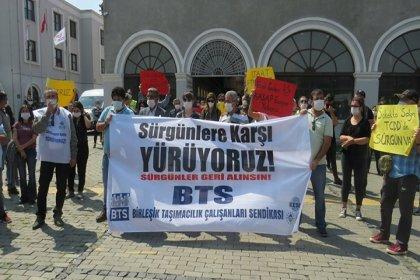 Demiryolu emekçileri İstanbul, İzmir, Adana ve Diyarbakır'dan Ankara'ya yürüyor