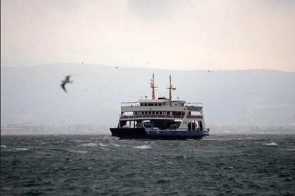 Deniz otobüsü ve feirbot seferleri durduruldu