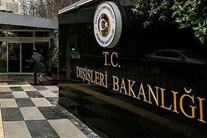 Dışişleri Bakanlığı'ndan AB'nin Türkiye raporuna tepki
