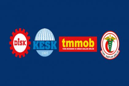 DİSK, KESK, TMMOB ve TTB'nin koronavirüsle mücadelede 7 maddelik acil önlem metni imzaya açıldı