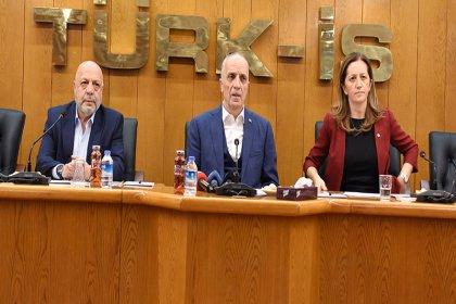 DİSK, Türk-İş ve Hak-İş'ten kıdem tazminatı gaspına karşı ortak açıklama