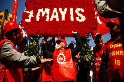 DİSK'ten 1 Mayıs bildirgesi