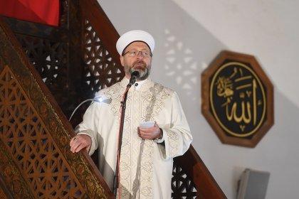 Diyanet İşleri Başkanı Erbaş: 12 Haziran'da camilerimizin avlularında namaz kılmaya başlayacağız