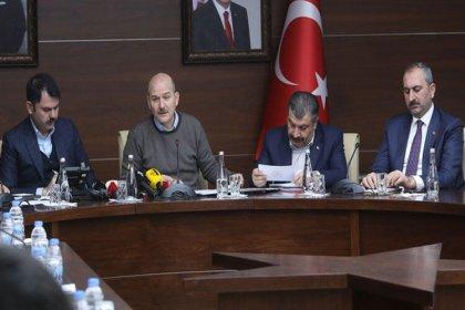 Dört bakandan Elazığ'da ortak açıklama