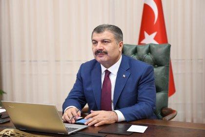 Dr Fahrettin Koca Samsun'da açıkladı; Türkiye genelinde yatak doluluk oranımız yüzde 51, yoğun bakım doluluk oranımız yüzde 68, solunum cihazı doluluk oranımız ise yüzde 33