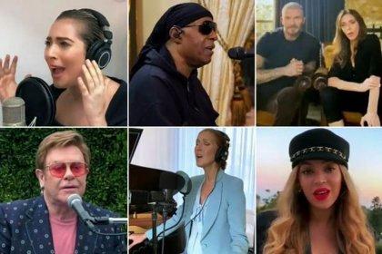Dünyaca ünlü isimlerden sağlık çalışanları için 8 saatlik konser: 127,9 milyon dolar bağış toplandı