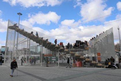 Ekrem İmamoğlu: Kavuşma Durağı'nın Taksim mesaisi bugün sona eriyor, 'elbet bir gün buluşacağız'