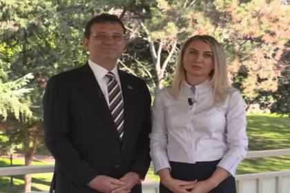 Ekrem İmamoğlu ve Dilek İmamoğlu'ndan kadına yönelik şiddete karşı ortak mesaj