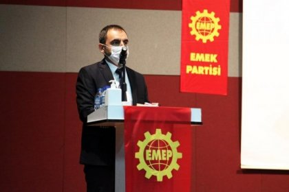 Emek Partisi Genel Başkanı Ercüment Akdeniz seçildi