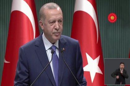 Erdoğan, Cumhurbaşkanlığı Kabine toplantısı sonrası Millete Sesleniş konuşmasında; 'Türkiye yeni küresel ve bölgesel arayışlarının güçlü siyasetiyle yükselen yıldızı konumundadır'