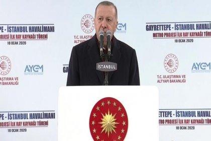 Erdoğan: Hem hizmet vermezler hem de hizmet verene teşekkür etmezler