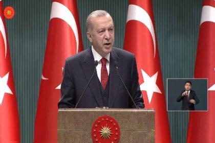 Erdoğan; Hizmete sunduğumuz her baraj, sulama ve enerji altyapımızı bir adım daha öteye taşıyor. İhracatçılarımız her zamanki gibi destan yazmaya devam ediyor. Turizm ve ticarette kayıplarımızın en azından bir bölümünü telafi ettik