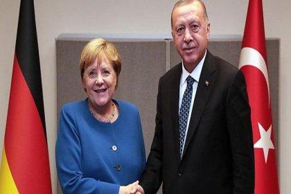 Erdoğan ile Merkel Doğu Akdeniz'i görüştü