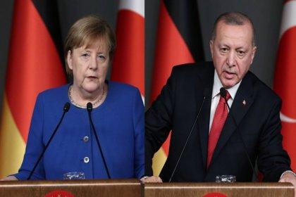 Erdoğan, Merkel'le telefonda görüştü