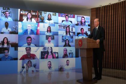 Erdoğan: Para kazanma hırsının, insani değerlerin, hatta insan hayatının önüne geçtiği tuhaf zamanlardan geçiyoruz