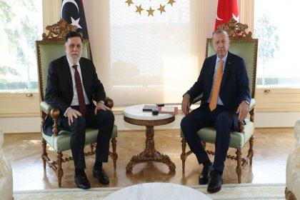 Erdoğan, Serrac'ı kabul etti