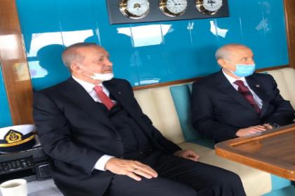 Erdoğan ve Bahçeli Yassıada açılışına birlikte gitti