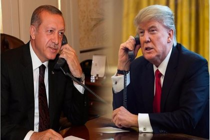 Erdoğan ve Trump telefonda İdlib'i görüştü