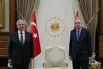 Erdoğan ve Mansur Yavaş Beştepe'de bir araya geldi