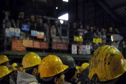 Ermenek'te Seba Madencilik çalışanı 55 maden işçisi direnişe başladı