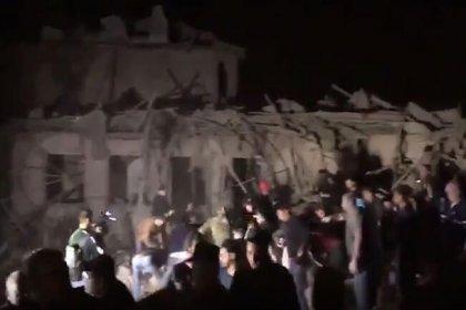 Ermenistan, Azerbaycan'a saldırdı; saldırıda çok  Çok sayıda sivil enkaz altında kaldı