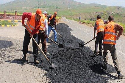 Eşit işe eşit ücret alamayan Karayolları işçilerinden tepki