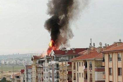 'Etimesgut'taki yangına geç müdahale edildi' iddiasına Ankara Büyükşehir'den açıklama