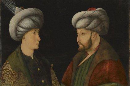 Fatih Sultan Mehmet tablosu İstanbul'a ulaştı