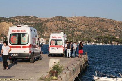 Foça'da dört kişinin yaşamını yitirdiği teknenin kaçan kaptanı yakalandı